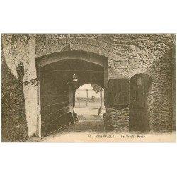 carte postale ancienne 50 GRANVILLE. La Vieille Porte 1933