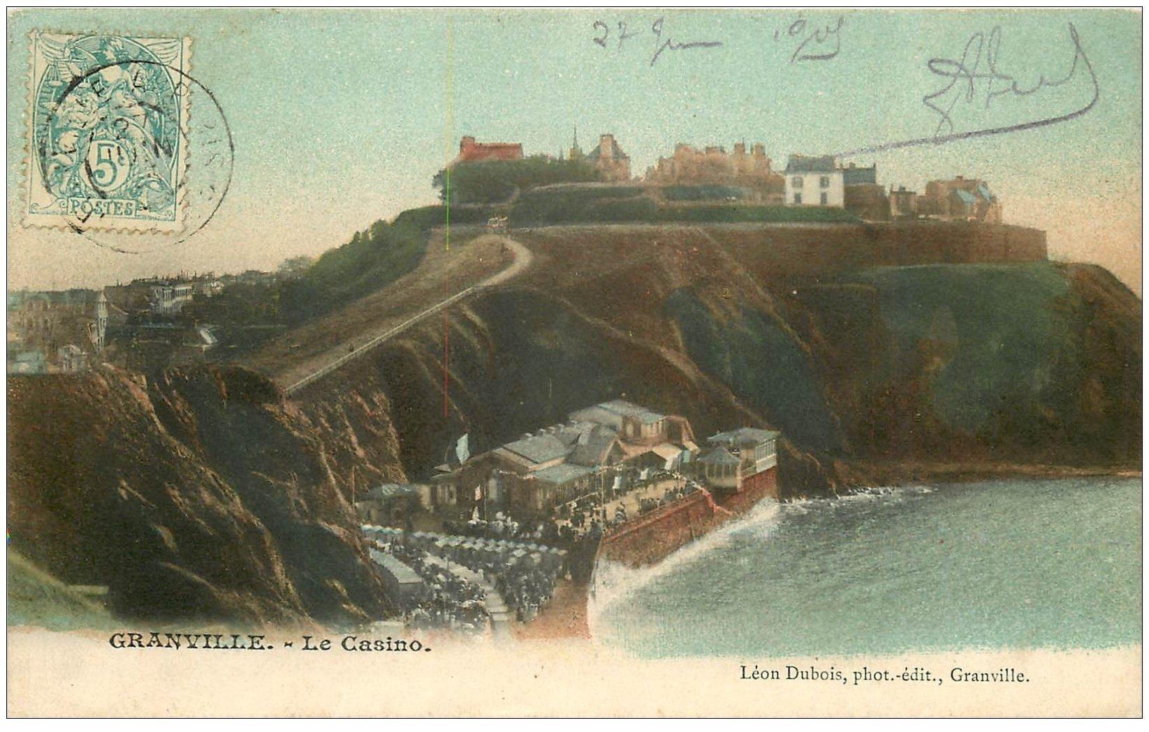 carte postale ancienne 50 GRANVILLE. Le Casino 1905