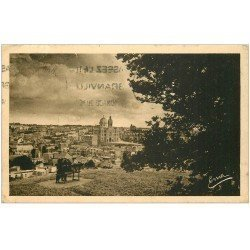 carte postale ancienne 50 GRANVILLE. Vue prise du Moulin à Vent 1938