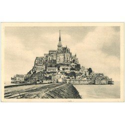 carte postale ancienne 50 LE MONT SAINT-MICHEL 1