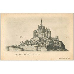 carte postale ancienne 50 LE MONT SAINT-MICHEL 1903
