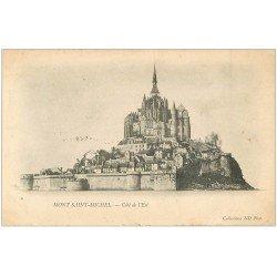 carte postale ancienne 50 LE MONT SAINT-MICHEL 1903