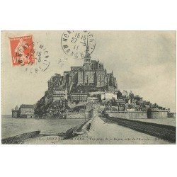 carte postale ancienne 50 LE MONT SAINT-MICHEL 1911
