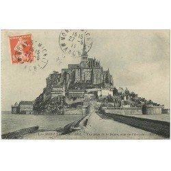 carte postale ancienne 50 LE MONT SAINT-MICHEL 1911