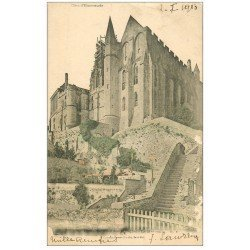 carte postale ancienne 50 LE MONT SAINT-MICHEL. 1903