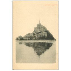 carte postale ancienne 50 LE MONT SAINT-MICHEL. 1933