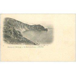 carte postale ancienne 50 LE NEZ DE JOBOURG. Vers 1900