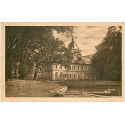 carte postale ancienne 50 LESSAY. Le Château. Timbre manquant