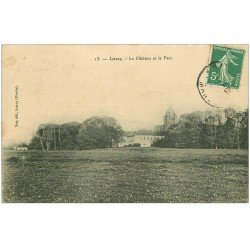 carte postale ancienne 50 LESSAY. Parc du Château
