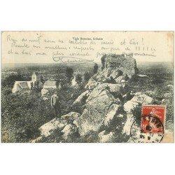 carte postale ancienne 50 LITHAIRE. Vigie Romaine 1909 avec personnages
