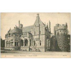 carte postale ancienne 50 MARTINVAST. Le Château 21