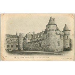carte postale ancienne 50 MARTINVAST. Le Château 22