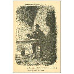 carte postale ancienne 50 MONT-SAINT-MICHEL. Blanqui en Prison