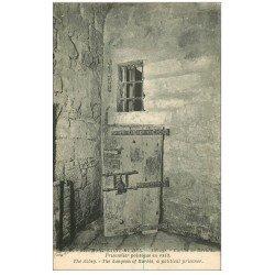carte postale ancienne 50 MONT-SAINT-MICHEL. Cachot de Barbès prisonnier politique