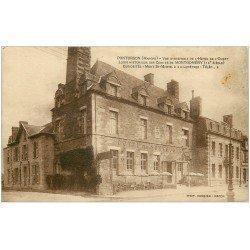 carte postale ancienne 50 PONTORSON. Hôtel de l'Ouest