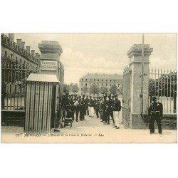 carte postale ancienne 50 SAINT-LO. Caserne Bellevue 1916