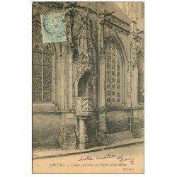carte postale ancienne 50 SAINT-LO. Chaire extérieure 1905