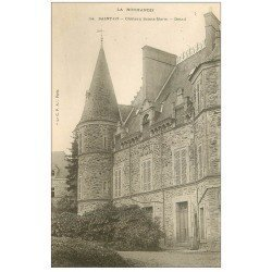 carte postale ancienne 50 SAINT-LO. Château Sainte-Marie vers 1900