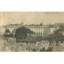 carte postale ancienne 50 SAINT-LO. Ecole Normale