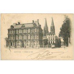 carte postale ancienne 50 SAINT-LO. Hôtel de Ville 1903