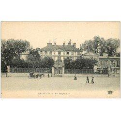 carte postale ancienne 50 SAINT-LO. La Préfecture
