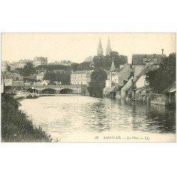 carte postale ancienne 50 SAINT-LO. La Vire