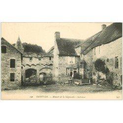 carte postale ancienne 50 SAINT-LO. Manoir Seigneurie
