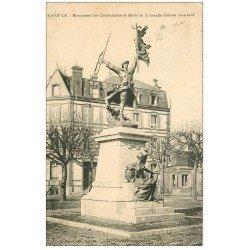 carte postale ancienne 50 SAINT-LO. Monument Combattants Morts Grande Guerre 1933