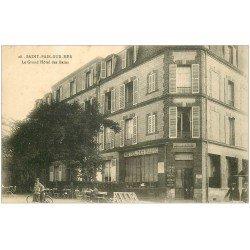 carte postale ancienne 50 SAINT-PAIR-SUR-MER. Grand Hôtel des Bains