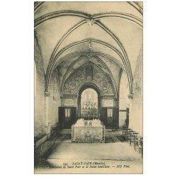 carte postale ancienne 50 SAINT-PAIR-SUR-MER. Tombeaux Saint-Pair et Saint-Seubilion