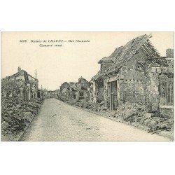 carte postale ancienne 02 CHAUNY. Rue Chaussée