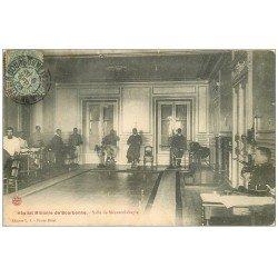 carte postale ancienne 52 BOURBONNE-LES-BAINS. Hôpital Militaire Salle de Mécanothérapie 1906