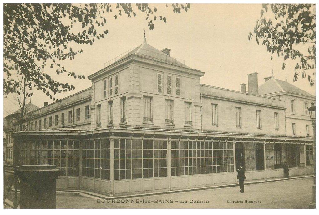 carte postale ancienne 52 BOURBONNE-LES-BAINS. Le Casino