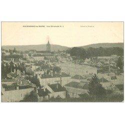 carte postale ancienne 52 BOURBONNE-LES-BAINS. Vue générale n°1