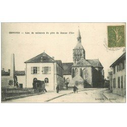 carte postale ancienne 52 CEFFONDS. Village et Roulotte 1917