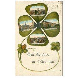 carte postale ancienne 52 CHAUMONT. Porte Bonheur 1932