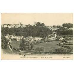 carte postale ancienne 52 CHAUMONT. Vallée de la Suize 1917