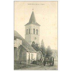 carte postale ancienne 52 CUSEY. L'Eglise