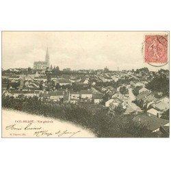carte postale ancienne 52 FAYL-BILLOT. Vue générale 1904