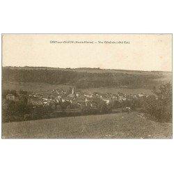 carte postale ancienne 52 GIEY-SUR-AUJON. 1923