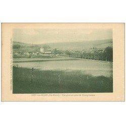 carte postale ancienne 52 GIEY-SUR-AUJON. Vue prise de Champ-Lannes