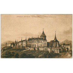 carte postale ancienne 52 JOINVILLE. Château en 1790