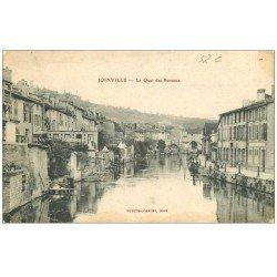carte postale ancienne 52 JOINVILLE. Quai des Peceaux 1906