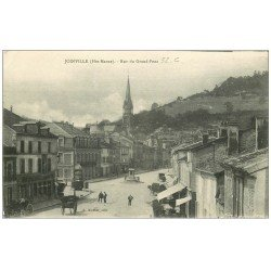 carte postale ancienne 52 JOINVILLE. Rue du Grand Pont