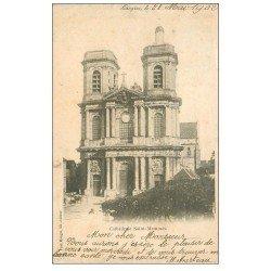carte postale ancienne 52 LANGRES. Cathédrale Saint-Mammès 1902
