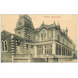 carte postale ancienne 52 LANGRES. Hôtel des Postes et Télégraphes