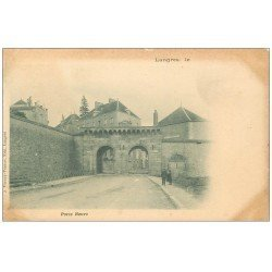 carte postale ancienne 52 LANGRES. Porte Neuve 1902