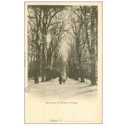 carte postale ancienne 52 LANGRES. Promenade de Blanche Fontaine vers 1900
