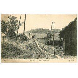 carte postale ancienne 52 LANGRES. Train à Crémaillière