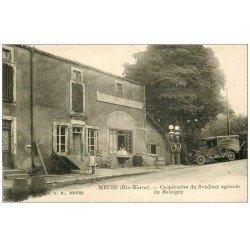 carte postale ancienne 52 MEUSE. Rare Coopérative Syndicat Agricole de Bassigny. Pompe à Essence Royal et Camion anciens